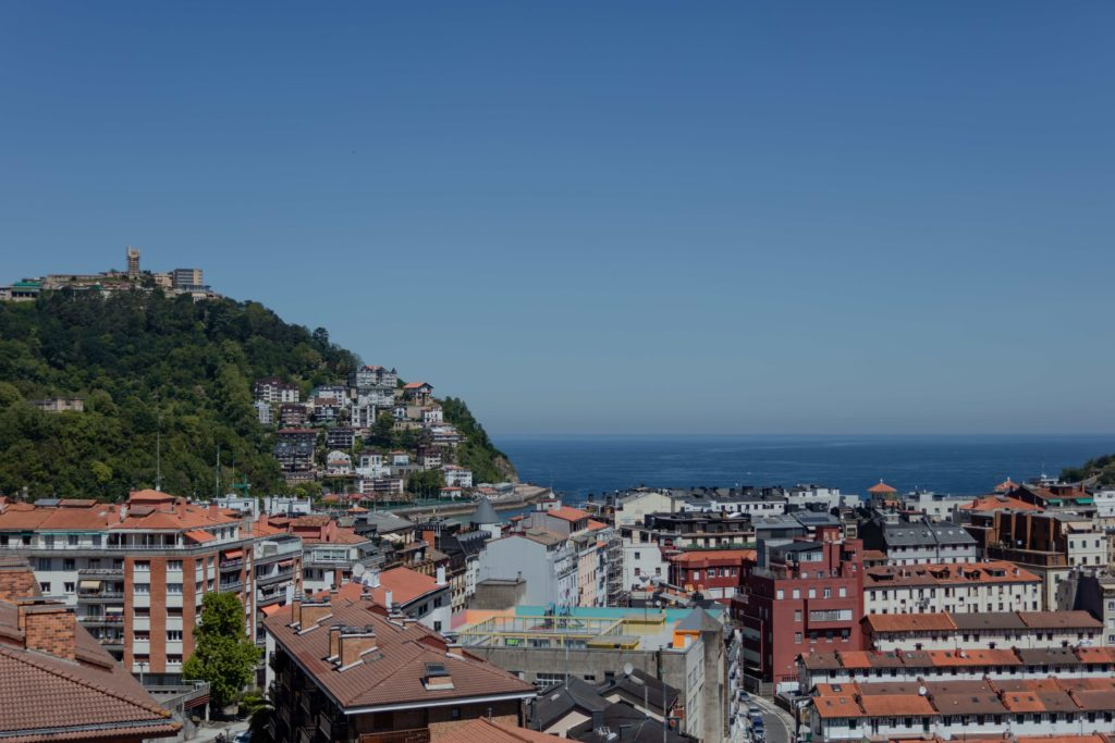 Vistas desde Koisi Hostel San Sebastián